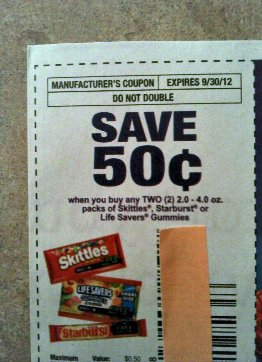 Coupons mailed your house usa